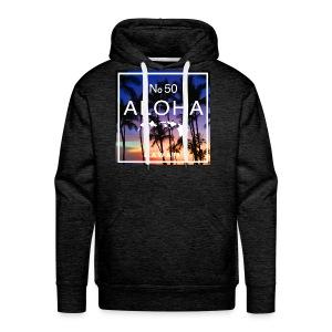 Aloha Hawaii Beach Sunset Shirt - Men's Premium Hoodie