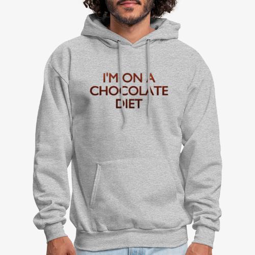 Chocolate Diet - Men's Hoodie