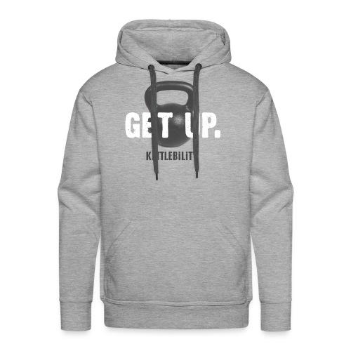 Get Up Hoody [men] - Men's Premium Hoodie