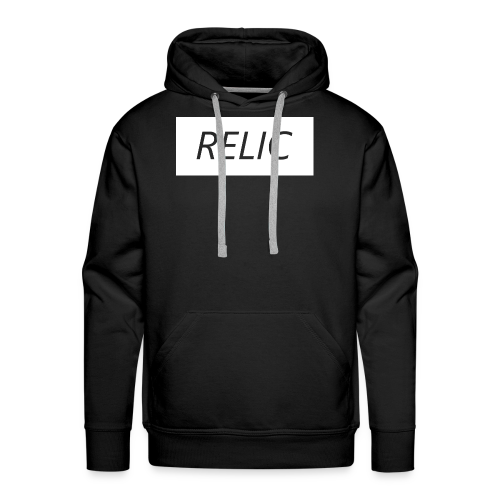 Relic Box Logo White  Sweatshirt - Men's Premium Hoodie