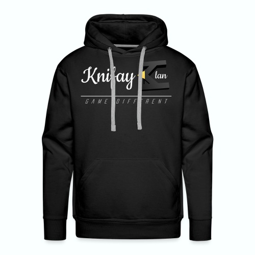 KCOS- Mens Black Sweater - Men's Premium Hoodie