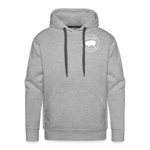 Grey Unisex Heavyweight Hooded Sweatshirt with Sweet & Sower Logo - Men's Premium Hoodie