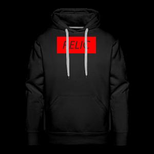 Relic Box Logo Red Sweatshirt - Men's Premium Hoodie