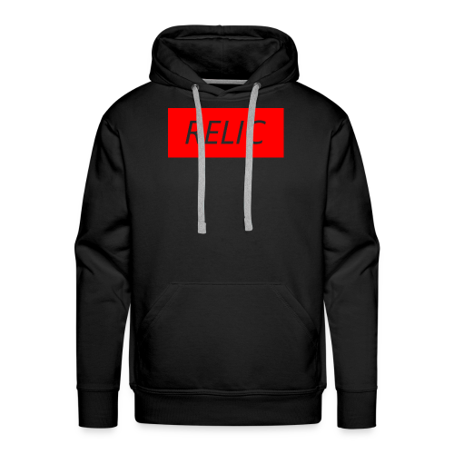 Relic Box Logo Red Sweatshirt - Men's Premium Hoodie