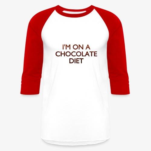 Chocolate Diet - Baseball T-Shirt
