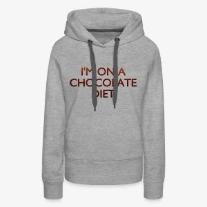 Chocolate Diet - Women's Premium Hoodie
