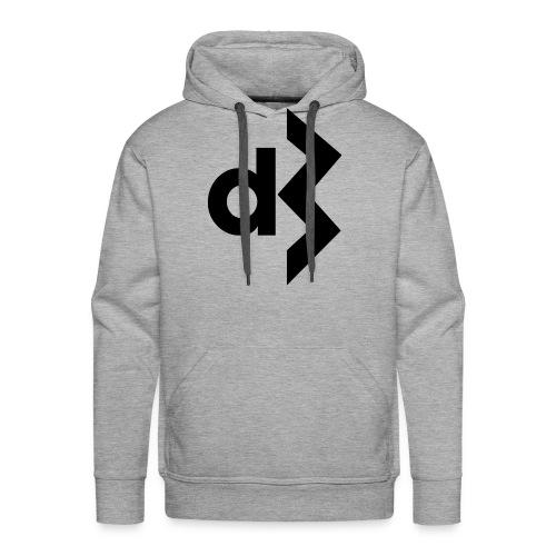 Black DB Logo Hoodie - Men's Premium Hoodie