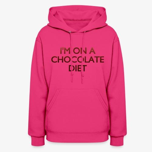 Chocolate Diet - Women's Hoodie