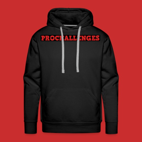 Men's Prochallenges Premium Hoodie (Black) - Men's Premium Hoodie