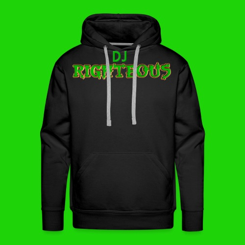 Men's Premium Hoodie - Logo of world famous DJ Righteous