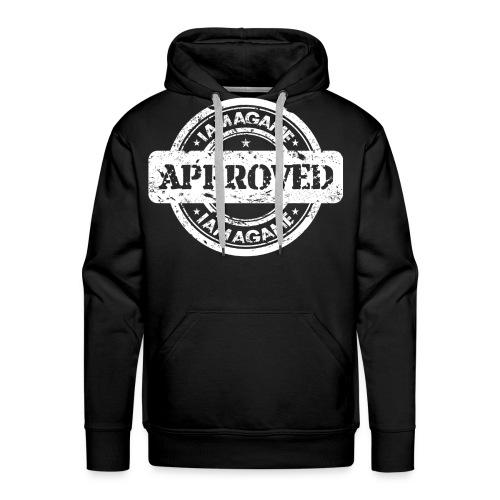 IamAGame Stamp of Approval Hoodie - Men's Premium Hoodie