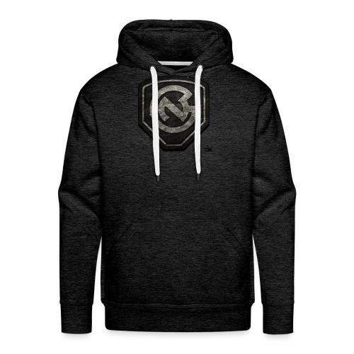 N3WB GEAR- Sweater Grunge N3 Logo - Men's Premium Hoodie