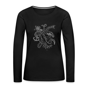 Fantasy scribblesirii black - Women's Premium Long Sleeve T-Shirt