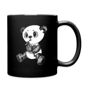 Panda Bear scribblesirii white - Full Color Mug