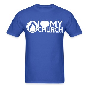 iHeart My Church Men's T-shirt - Men's T-Shirt