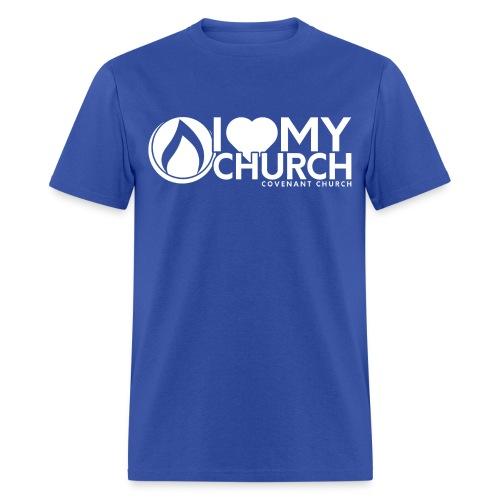 iHeart My Church Men's T-shirt - Men's T-Shirt