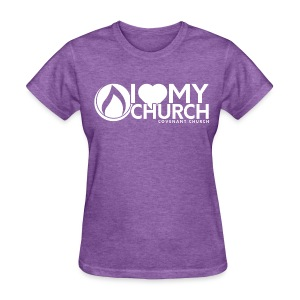iHeart My Church Women's T-shirt - Women's T-Shirt