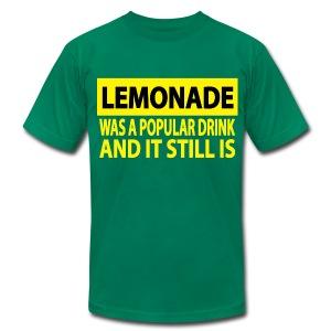 A Popular Drink T-Shirt for Men - Men's Fine Jersey T-Shirt
