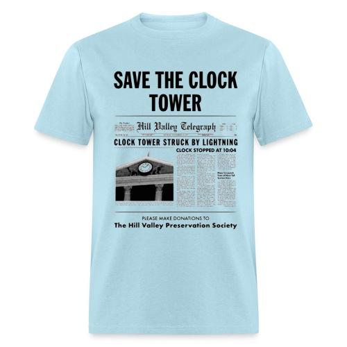 Save the Clock Tower - Men's T-Shirt