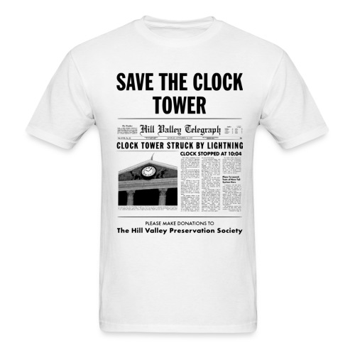 Save the Clock Tower - Men's T-Shirt