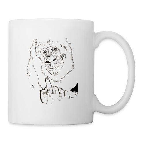 The Fuck Monkey - Coffee/Tea Mug