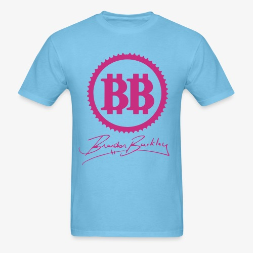 BB Logo Blue Mens - Men's T-Shirt