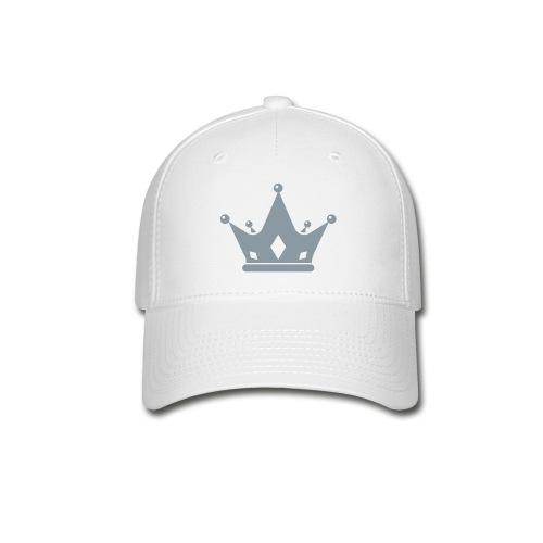 Crown White Baseball Cap - Baseball Cap
