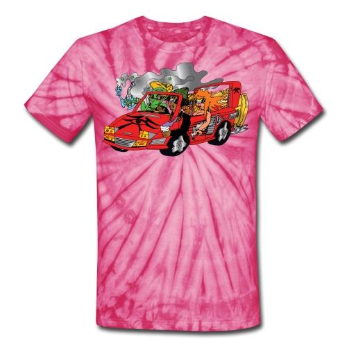 stamp tiedye - Unisex Tie Dye T-Shirt