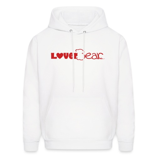 Hooded Sweatshirt--Red Logo - Men's Hoodie