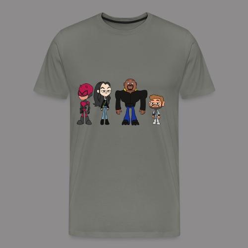 Defenders GO! T-Shirt (Men's) - Men's Premium T-Shirt