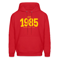 Hoodies ~ Men's Hoodie ~ est. 1985 Nineteen Eighty Five