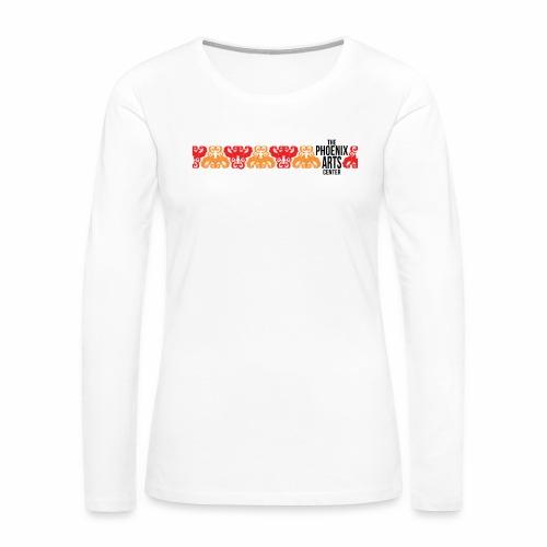Phoenix Stripe Women's Premium Long Sleeve T-Shirt - Black Type - Women's Premium Long Sleeve T-Shirt