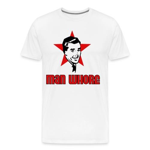 ManWhore by DV - Men's Premium T-Shirt