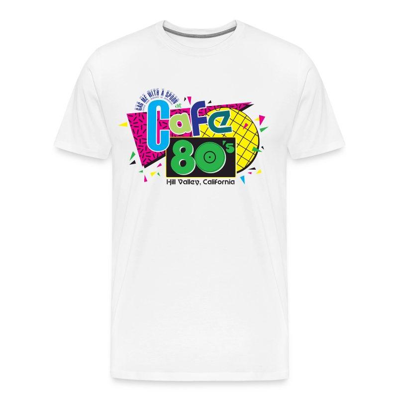 Cafe 80's - Men's Premium T-Shirt