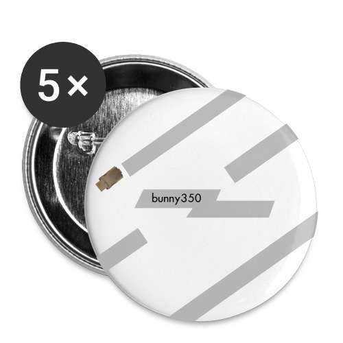 Bunny 350 Button Pin (5 Pack) - Large Buttons