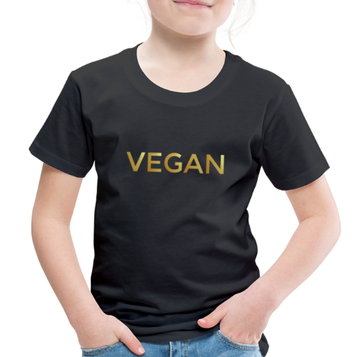 VEGAN Gold Toddler T-Shirt - Toddler Premium T-Shirt