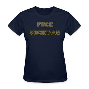 F Michigan 2012 Womens - Women's T-Shirt