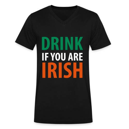 Irish - Niall fans - Men's V-Neck T-Shirt by Canvas