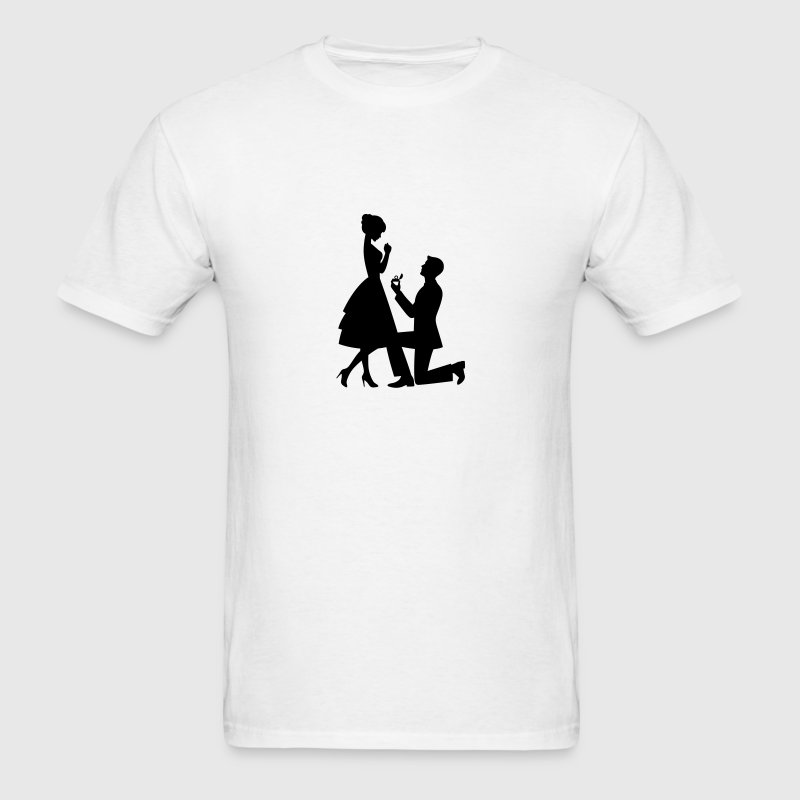 Wedding Proposal (1c)++ T-Shirts - Men's T-Shirt