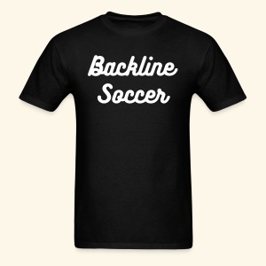 Light Text Backline Soccer Shirt - Men's T-Shirt