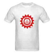 T-Shirts ~ Men's T-Shirt ~ MTRAS Control The Robots Red Tshirt