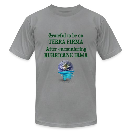 Hurricane Irma Men's Shirt - Men's Fine Jersey T-Shirt