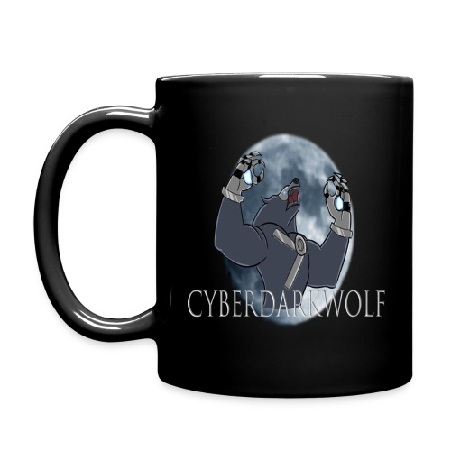 CyberDarkWolf Mug - Full Color Mug