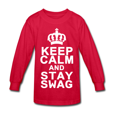 Keep Calm And Stay Swag Kids' Shirts