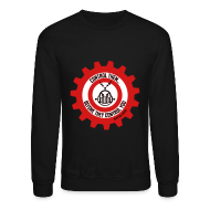 Long Sleeve Shirts ~ Crewneck Sweatshirt ~ MTRAS Control The Robots Black, Red & White - Sweatshirt