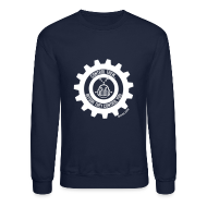 Long Sleeve Shirts ~ Crewneck Sweatshirt ~ MTRAS Control The Robots White - Sweatshirt