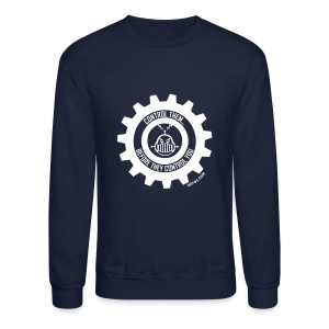 MTRAS Control The Robots White - Sweatshirt - Crewneck Sweatshirt