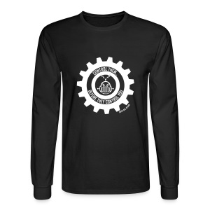 MTRAS Control The Robots White - Long Sleeve Hanes - Men's Long Sleeve T-Shirt