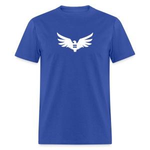 Men's Blue Equal Eagle T-Shirt - Men's T-Shirt