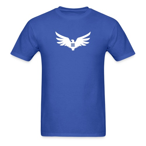 Men's Blue Equal Eagle T-Shirt - Men's T-Shirt